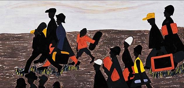 Jacob Lawerence Migration 1