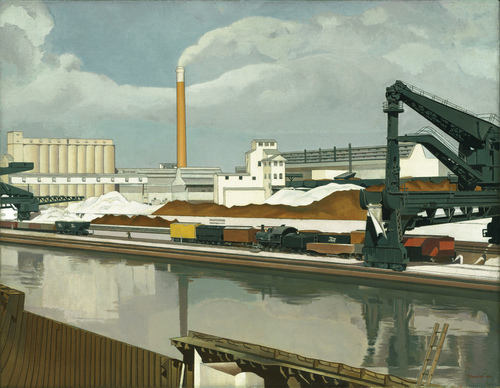 American Landscape by Charles Sheeler c. 1930