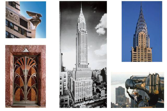 The Chrysler Building by William Van Alen, c. 1926 - 1930